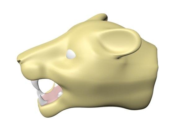 lioness lions 3d max
