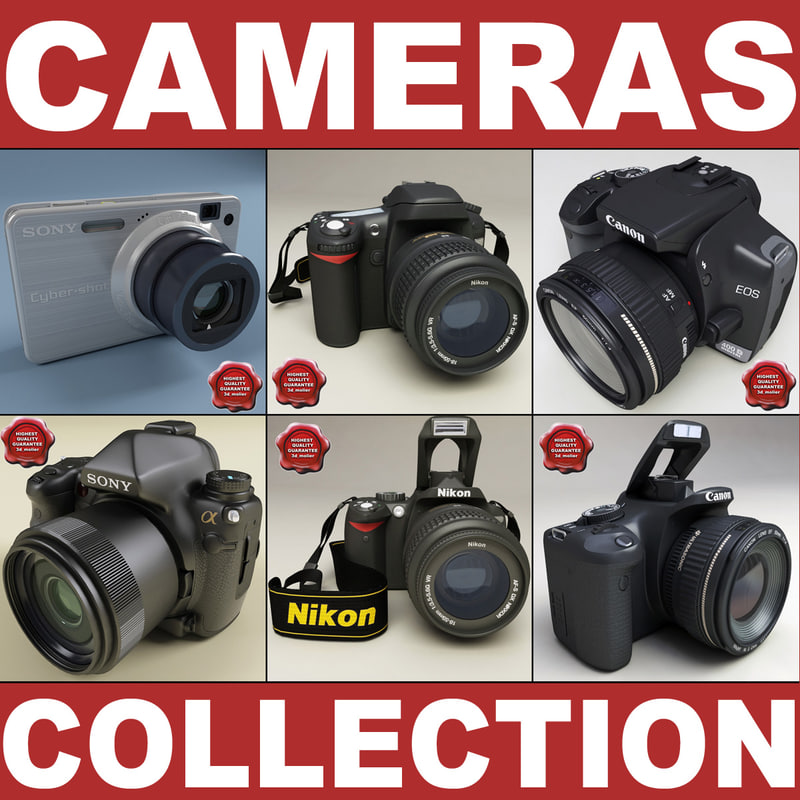 3d model photo cameras v2