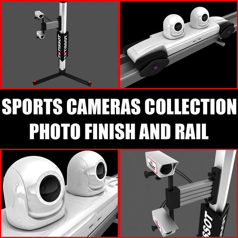 sports cameras 3d model