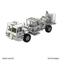 vibrator truck vib 3d model