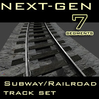 Next-Gen Subway and Railroad track set