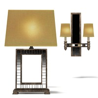 fine art lamps 542510ST table lamp sconce  transatlantic