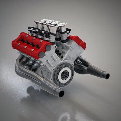 maya compact v8 engine