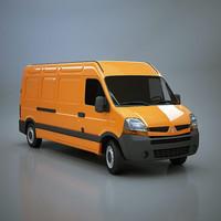 3d model master long van