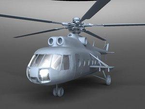 mi 8 3d model