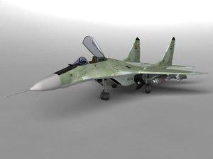 mig 29 fighter cockpit obj