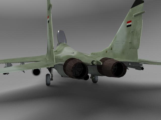 MIG 29 fighter