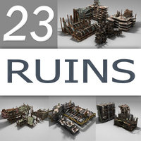 ruins destroyed city max