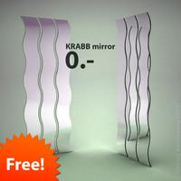 Ikea Krabb Mirror