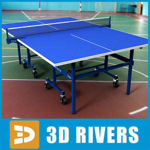 obj ping pong table
