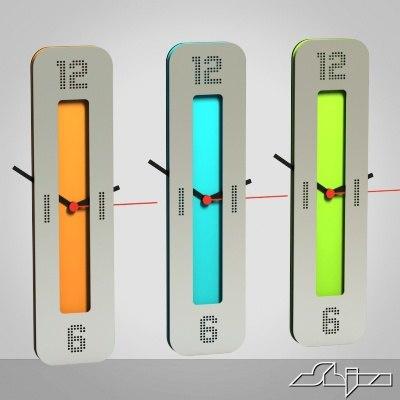 3d model of wall clock