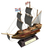 golden hind 3d max