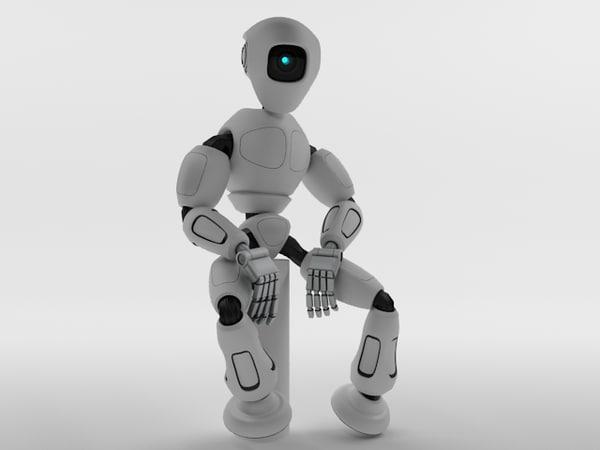 robot rm100 3d model