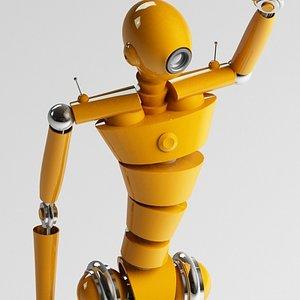 robot droid 3ds