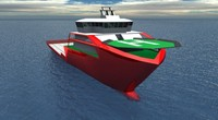 ship trawler 3d model