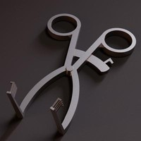 surgical clamp 3d model