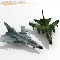panavia tornado germany ids 3d model