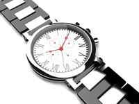 wrist watch 3d max