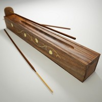 incense holder box 3d model