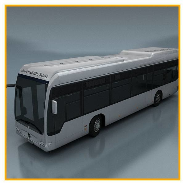 3d vehicle bus model