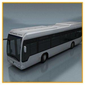 3d vehicle bus model