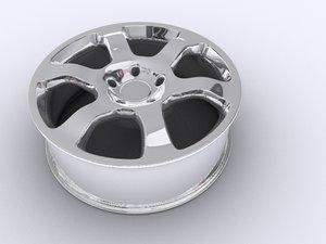 car rim 3d max
