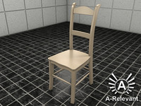 Chair 1 NoMat - chair model - 3ds max 2010