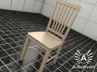 3d chair 2010 2 model