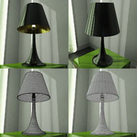 modern design lamp shade 3d model