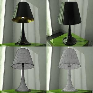 modern design lamp shade 3d model