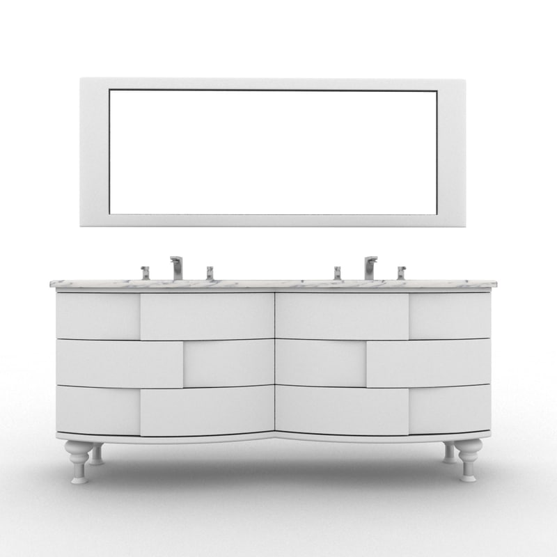furniture bathroom 3ds