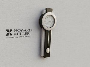 clock 3d max