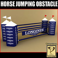 Horse Jumping Obstacle