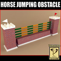 horse jumping obstacle max