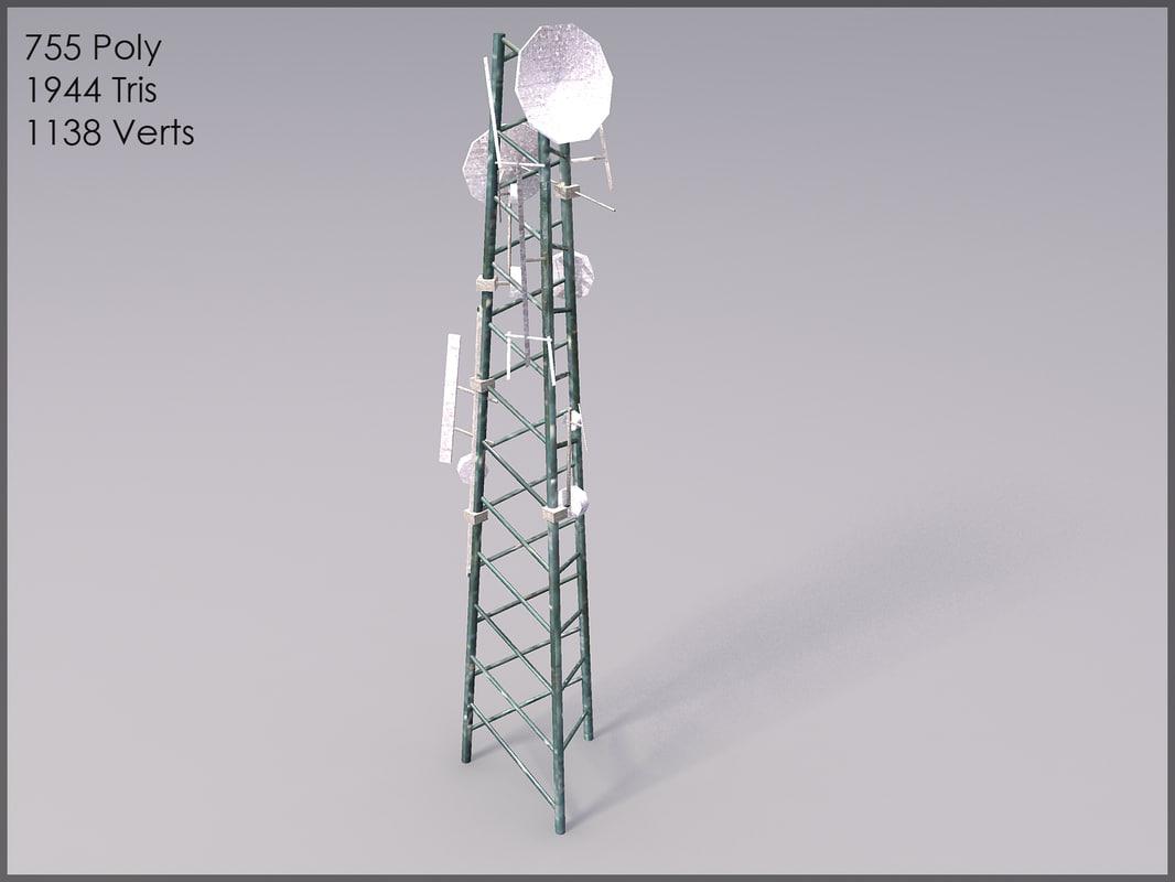 telecom tower max
