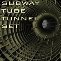 Subway Tube Tunnel creation Set