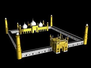 badshahi mosque max