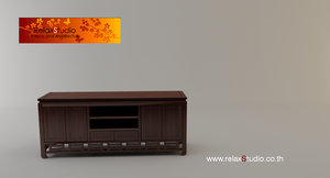 chiness console 3d model