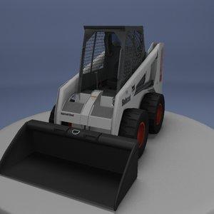 bobcat skid steer 3d model
