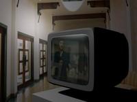television screen 3d model