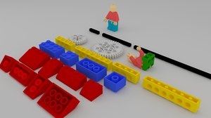 lego man blend