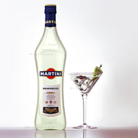 martini bianko glass