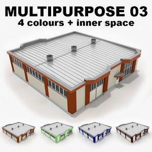 multipurpose industrial building 03 max