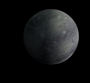 planet pluto 3d model