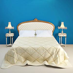 bed volpi persia 3d max