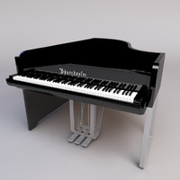 3d bösendorfer grand piano model