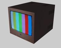 free tv 1 3d model