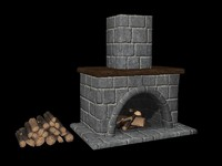 Fireplace Set 1