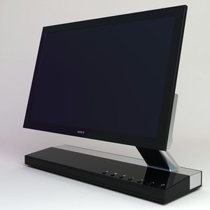 sony xel-1 tv 3d model