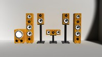 surround speaker 3d max